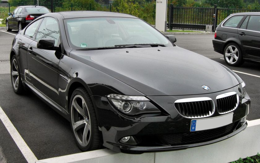 BMW 6er Coupé Facelift front