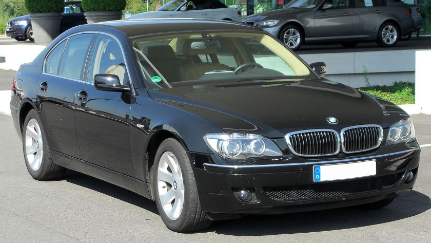 BMW 730d (E65) Facelift front