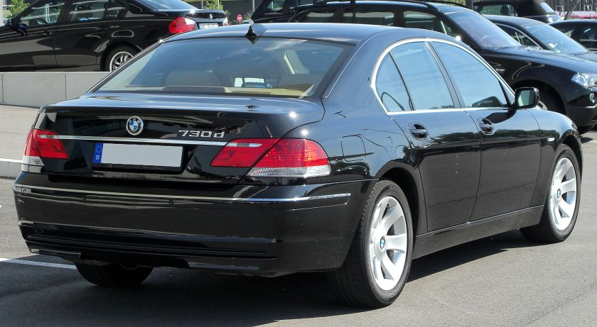 BMW 730d (E65) Facelift rear
