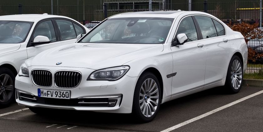 BMW 730d xDrive (F01)Frontansicht