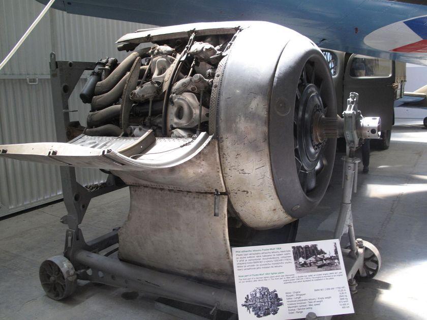 BMW 801 radial engine Letecké muzeum Kbely