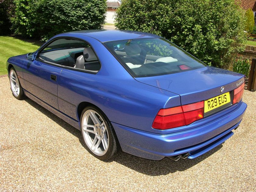BMW 840 Ci Sport rear