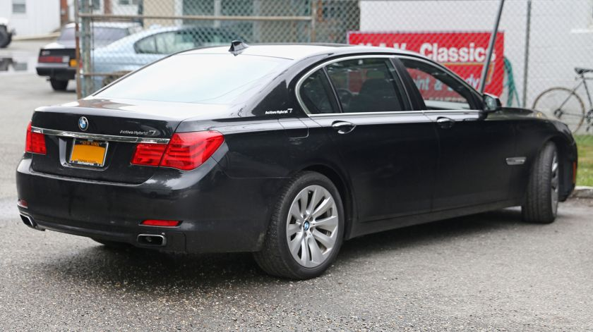 BMW ActiveHybrid 7 (F04) rear