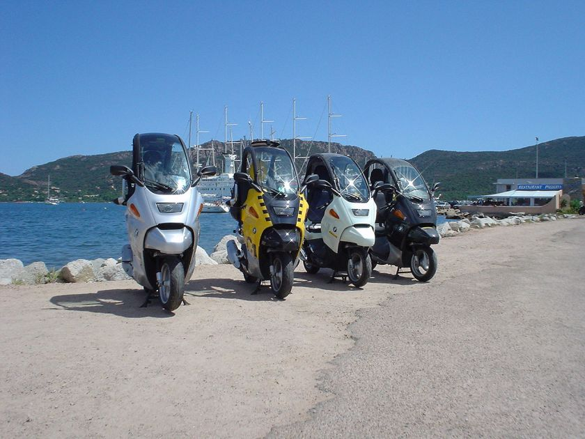 BMW C1 200 executive, family friend, C1 125 base, executive