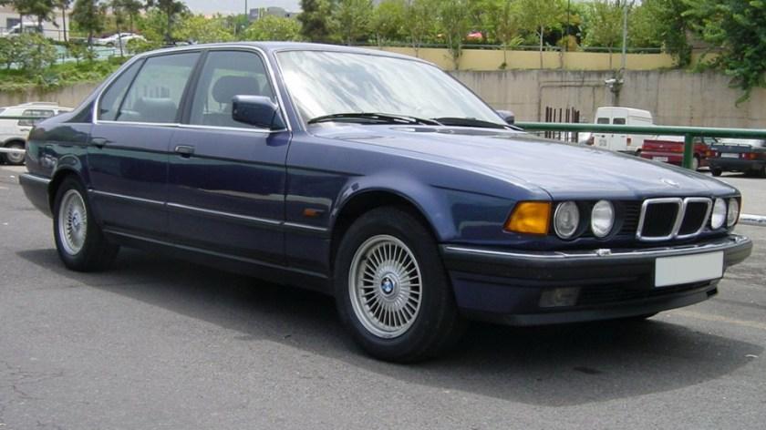 BMW E32 Front