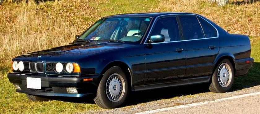 BMW E34 525i skyline