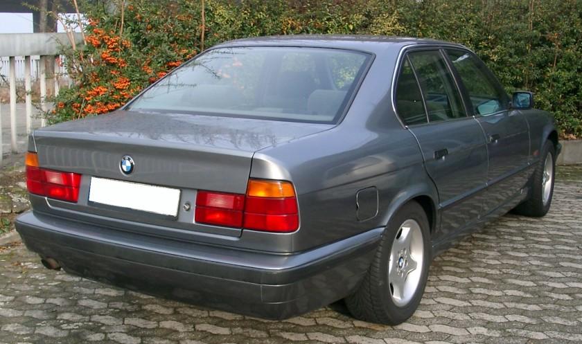 BMW E34 rear europa