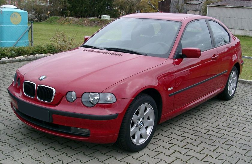 BMW E46 compact front