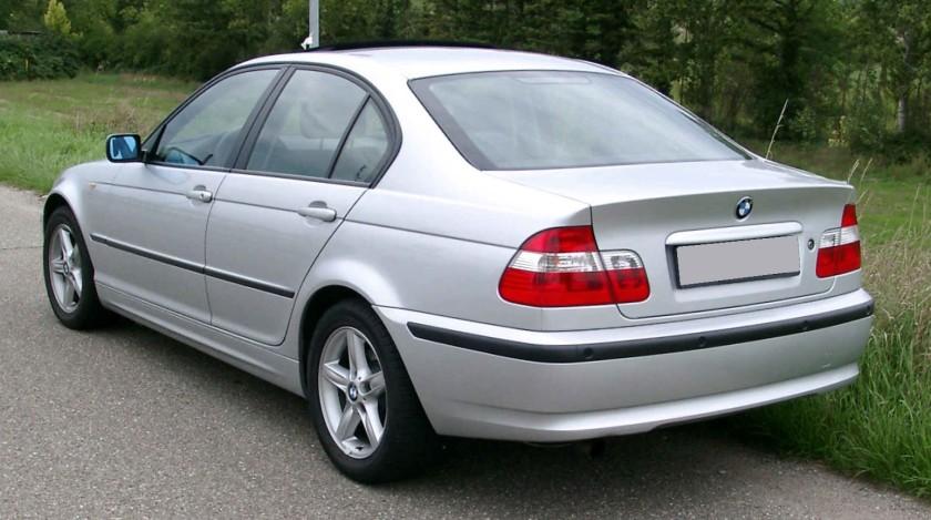 BMW E46 rear 2