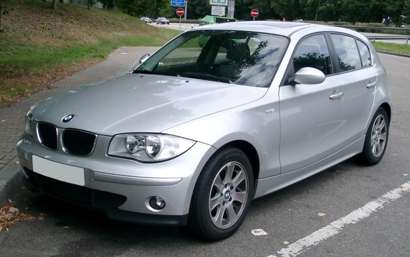 BMW E87 front