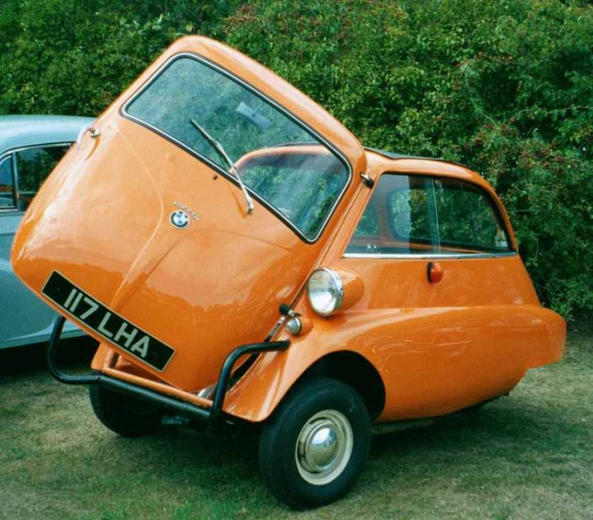 BMW Isetta 3-wheeled version