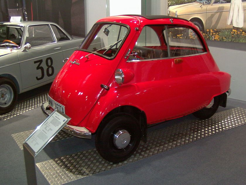 BMW Isetta Moto Coupe Muenchen