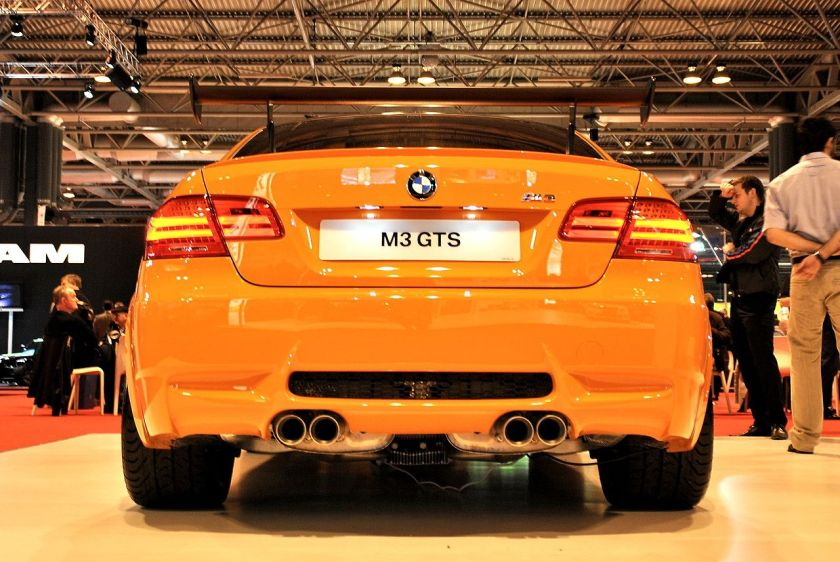 BMW M3 GTS at the Autosport International Show 2011.
