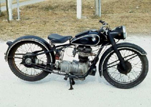 BMW R24 motorcycle