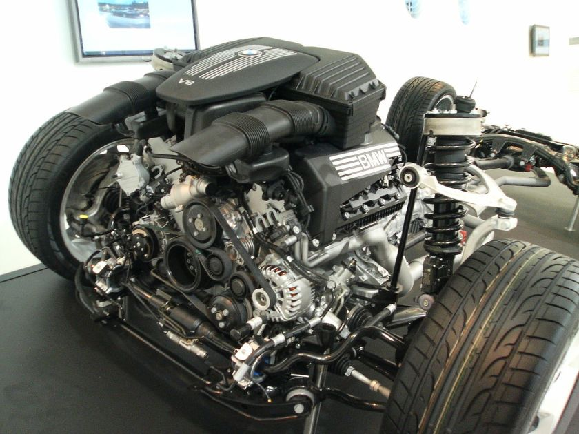BMW V8 engine X5