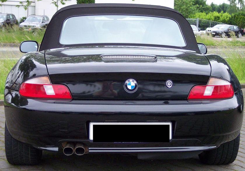 BMW Z3 black h