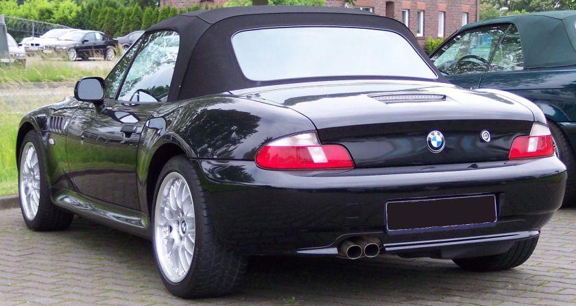BMW Z3 black hl