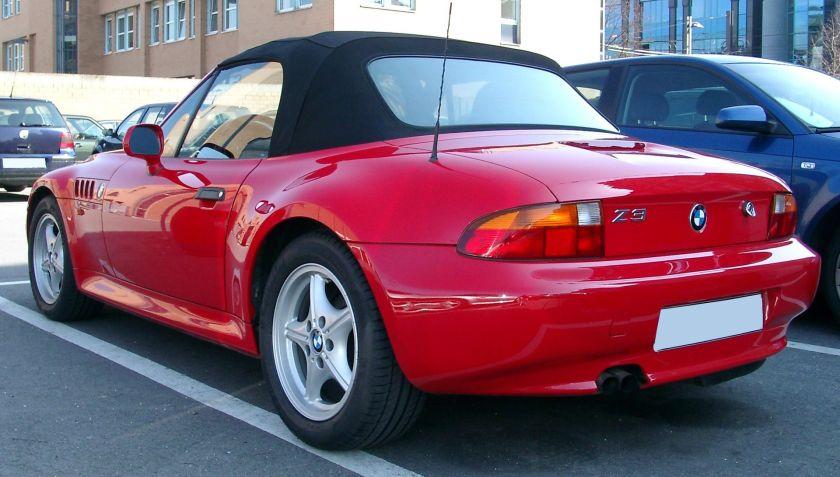BMW Z3 rear