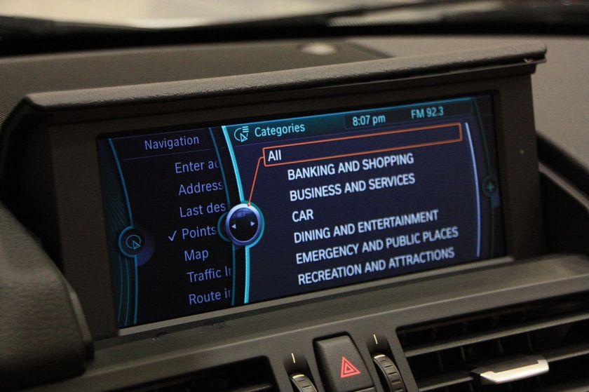BMW Z4 E89 iDrive