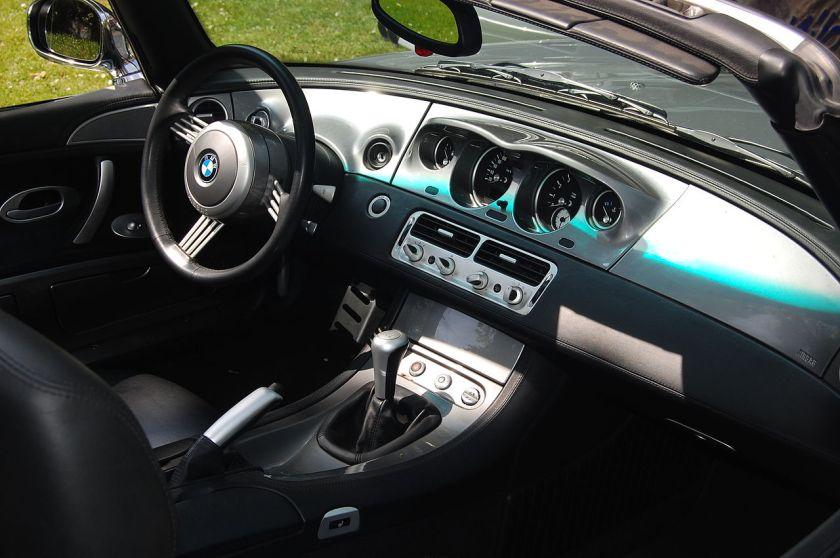 BMW Z8 Interieur