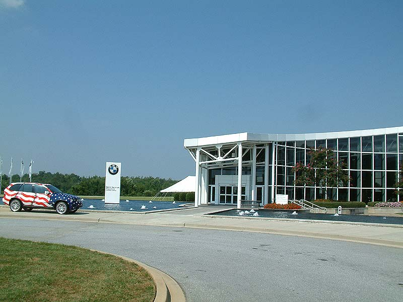 BMW Zentrum Spartanburg USA