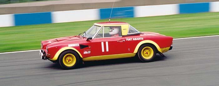 Fiat 124 Abarth Silverstone