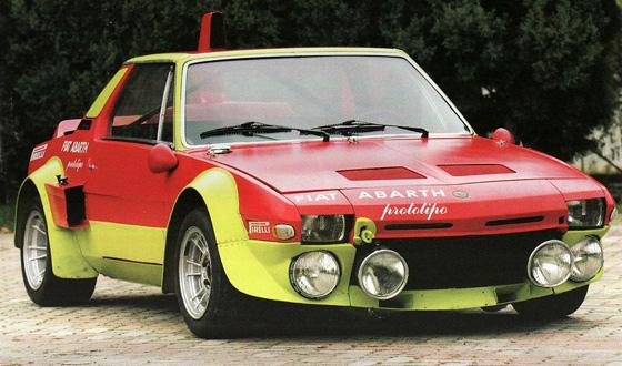 Fiat 131 Abarth X1-9 prototipo
