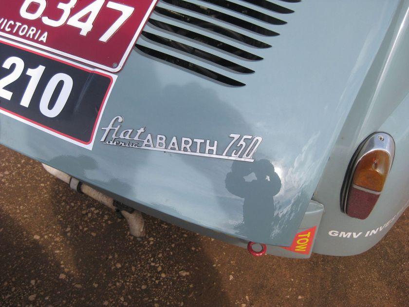 Fiat 750 Derivazione Abarth logotype