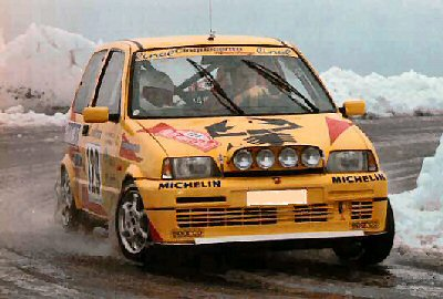 Fiat Cinquecento Sporting 1.1 Rally car a