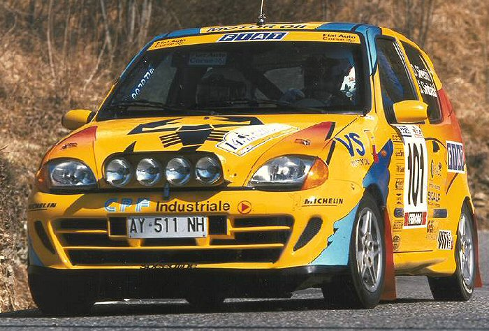 Fiat Cinquecento Sporting 1.1 Rally car