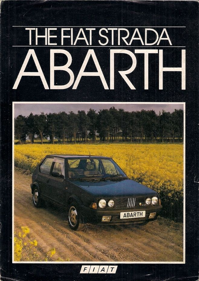 Fiat Ritmo Abarth 130TC Strada book a