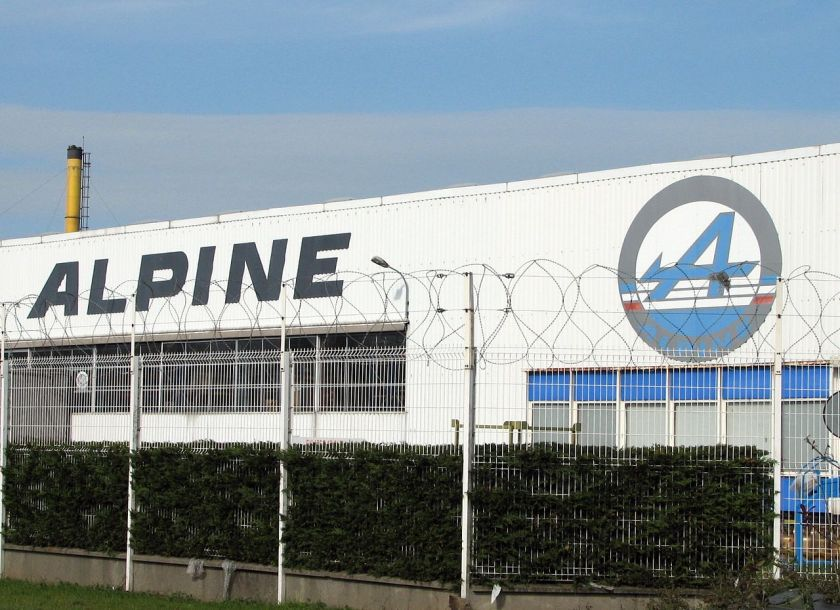 Home of Alpine in Dieppe, France