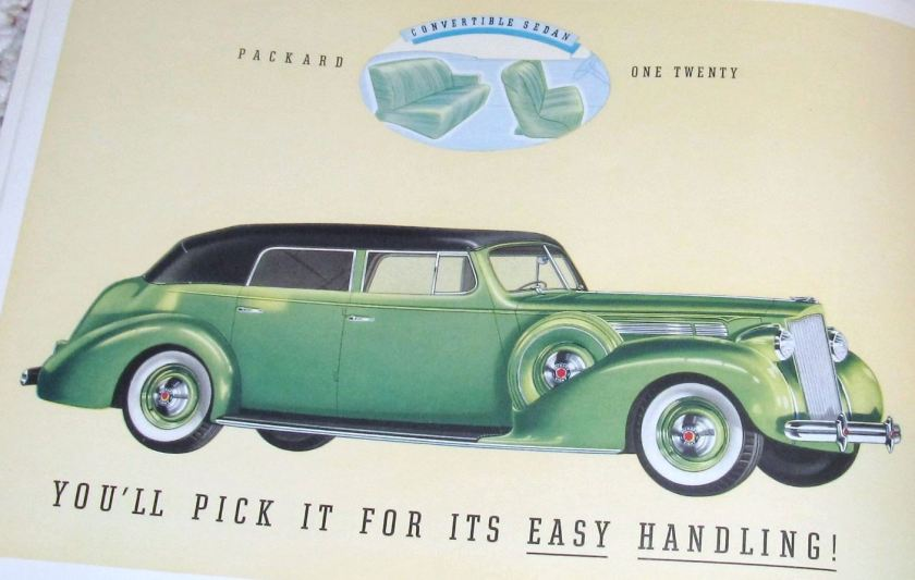 Packard one twenty