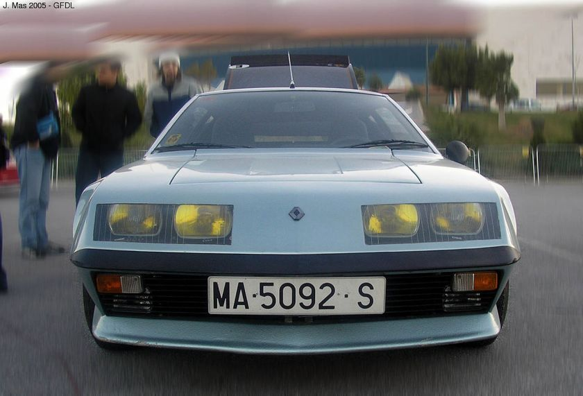Renault Alpine A310 3