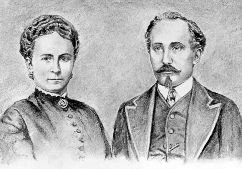 1868 Adam und Sophie Opel