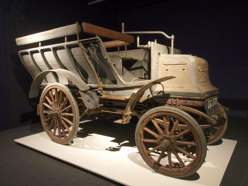 1897 Daimler 6hp twin-cylinder Six-seat brake