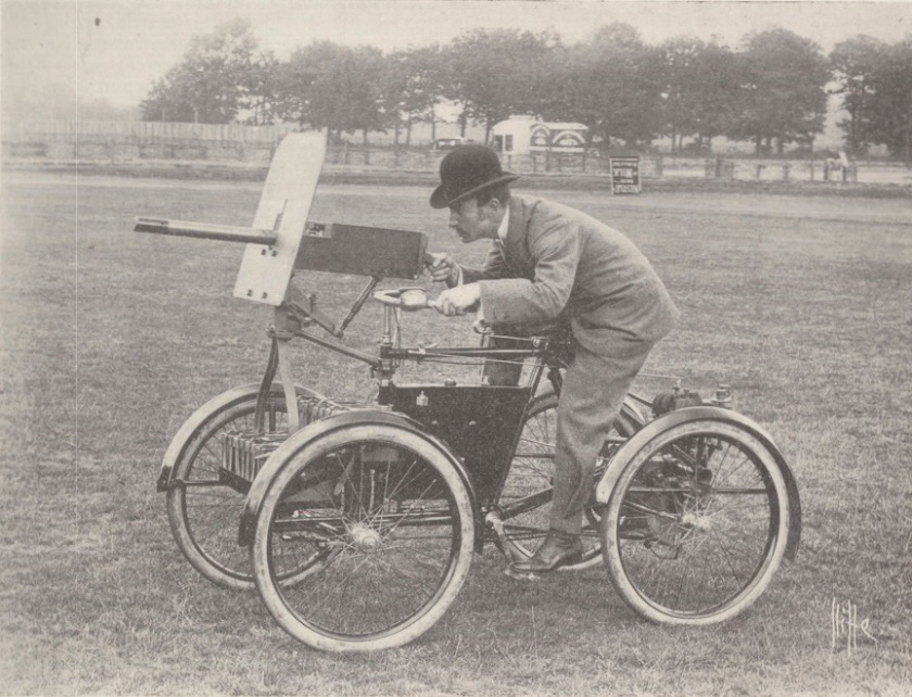 1899 Simms Motor Scout from Autocar