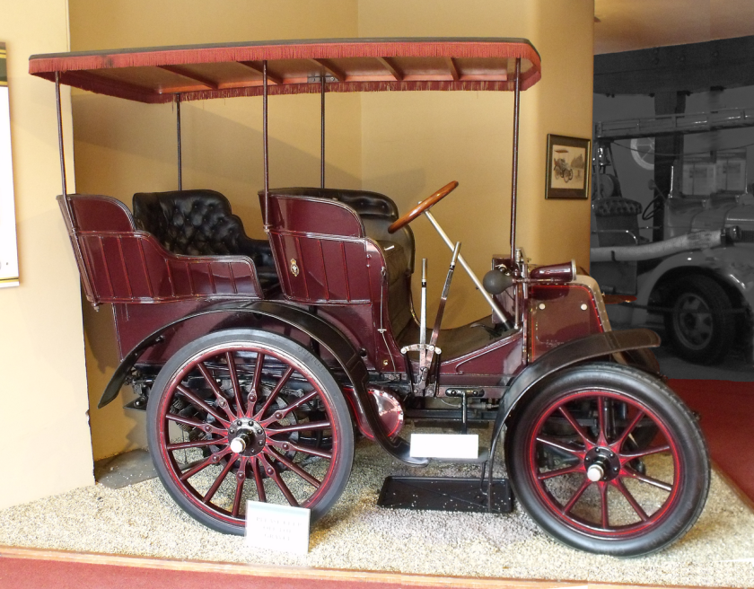 1900 Daimler 6hp Sandringham first Royal ar 1527cc Prince of Wales
