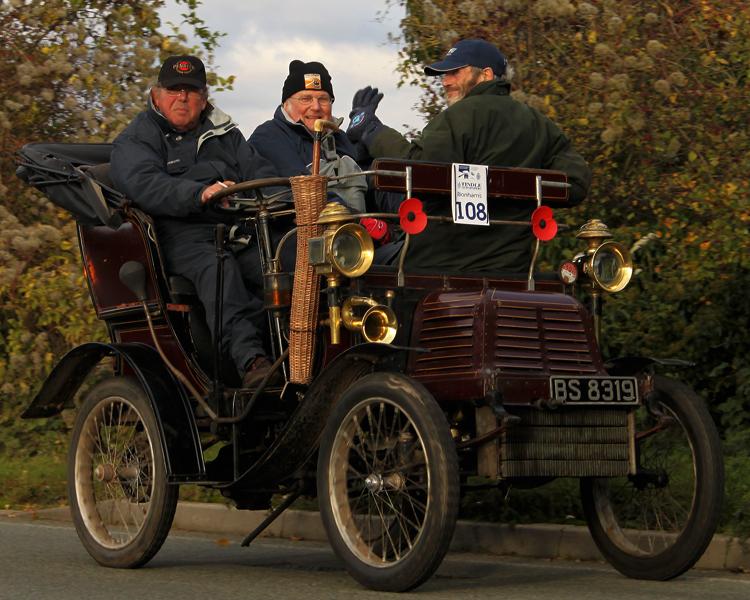 1901 Adler 4.5 HP Vis-à-vis