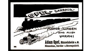 1901 Opel_Experience_History_Heritage_1901_Advertisement_for_pel_Darracq_304x171_25038