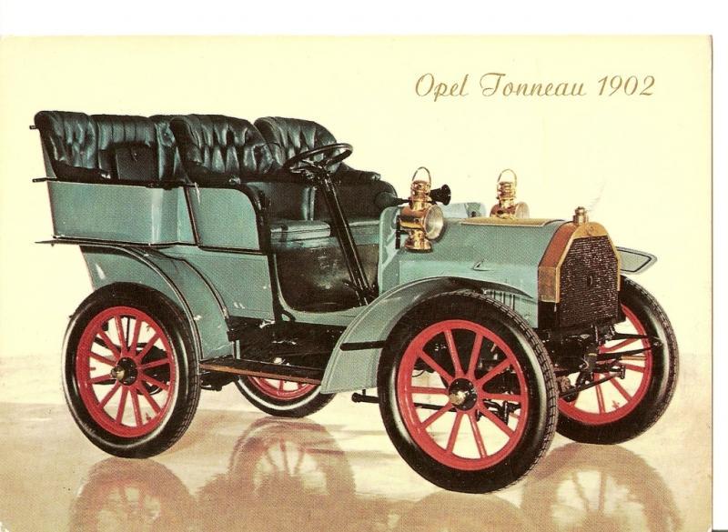 1902 OPEL Darracq 1902