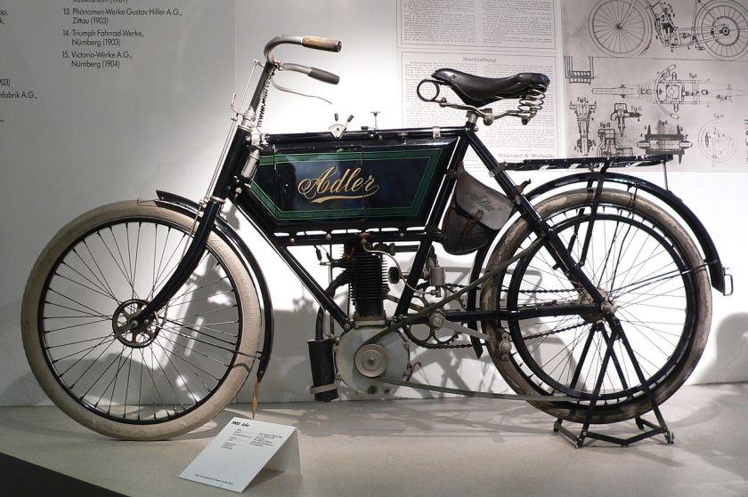 1902 ZweiRadMuseumNSU Adler 1902
