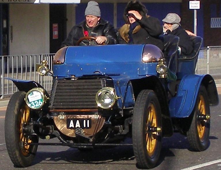 1903-Daimler-AA11-1198 4cyl. 4.503cc 45mph