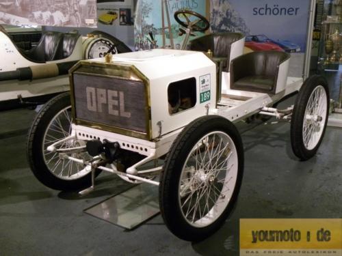 1903 Opel Darracq Rennwagen