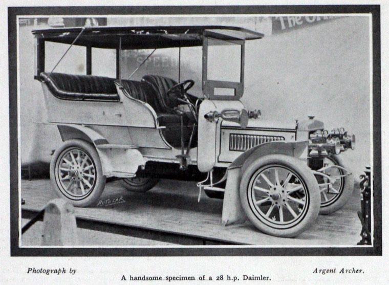 1905 AC Daimler 8
