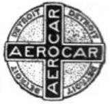 1906 Aerocar-detroit logo