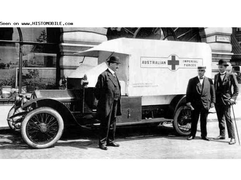 1909-19 Crossley 20 Hp ,20,25 c ambulance