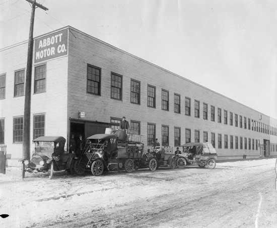Abbott motor car company detroit automobile detroit for Usa motors cleveland ohio