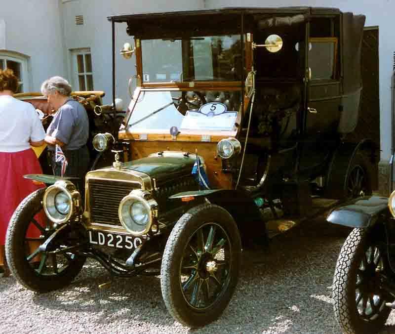 1909 Adlersinglelandaulete1909