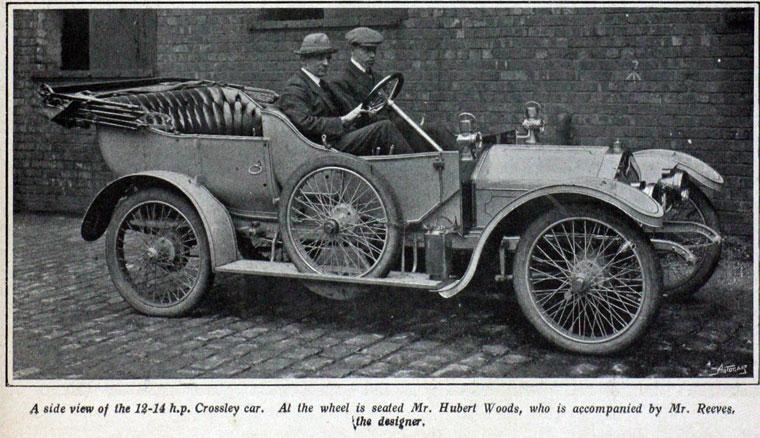 1909 Crossley
